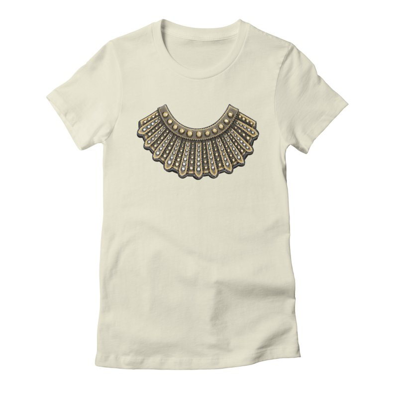 Dissent RBG Style Women's Fitted T-Shirt by Dissent in Style