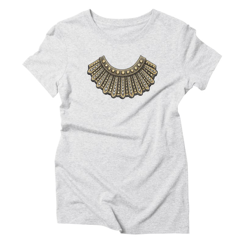 Dissent RBG Style Women's Triblend T-Shirt by Dissent in Style