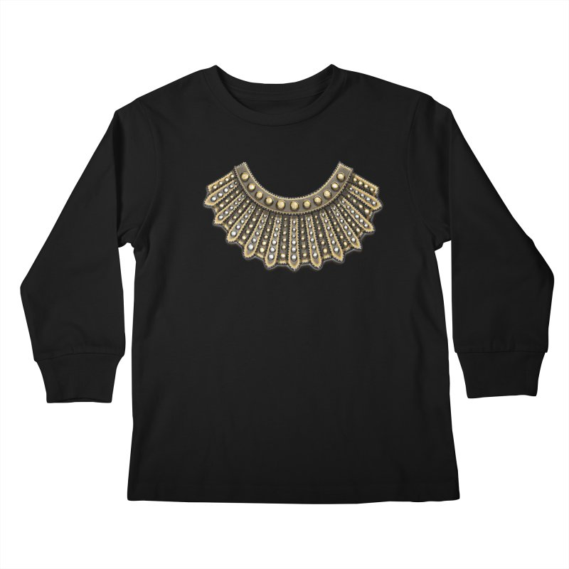 Dissent RBG Style Kids Longsleeve T-Shirt by Dissent in Style