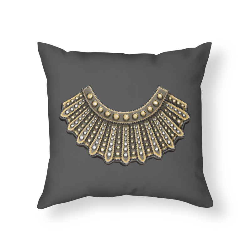 Dissent RBG Style Home Throw Pillow by Dissent in Style