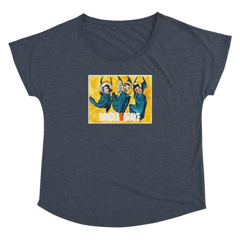 DWF Three Angels Women's Dolman Scoop Neck by FamClub's Artist Shop