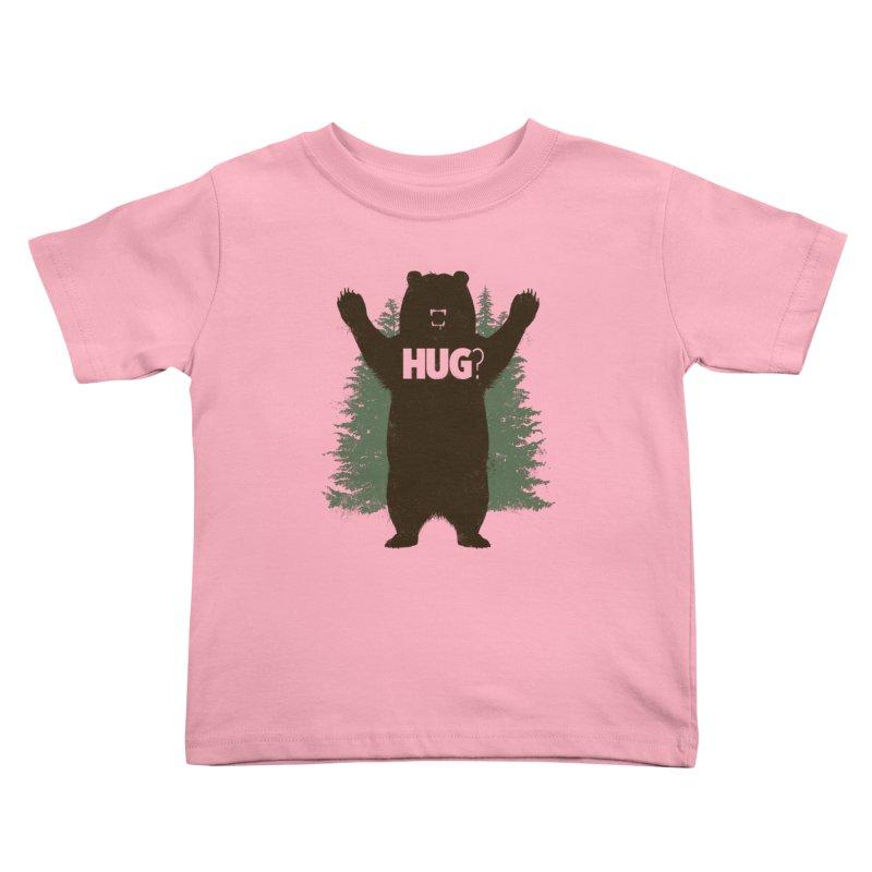 Bear Hug Kids Toddler T-Shirt by Fanboy30's Artist Shop