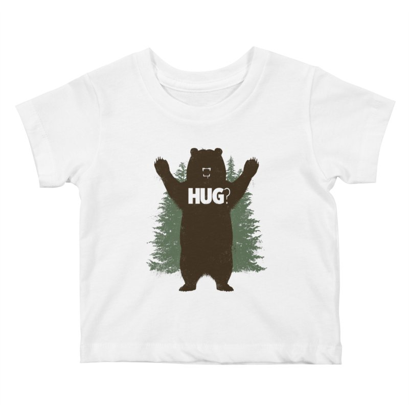 Bear Hug Kids Baby T-Shirt by Fanboy30's Artist Shop