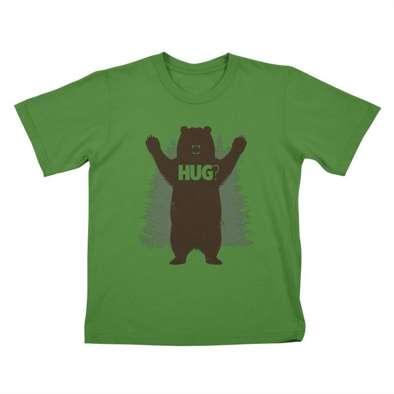 Bear Hug Kids T-Shirt by Fanboy30's Artist Shop