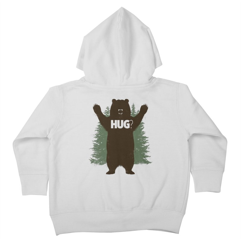 Bear Hug Kids Toddler Zip-Up Hoody by Fanboy30's Artist Shop