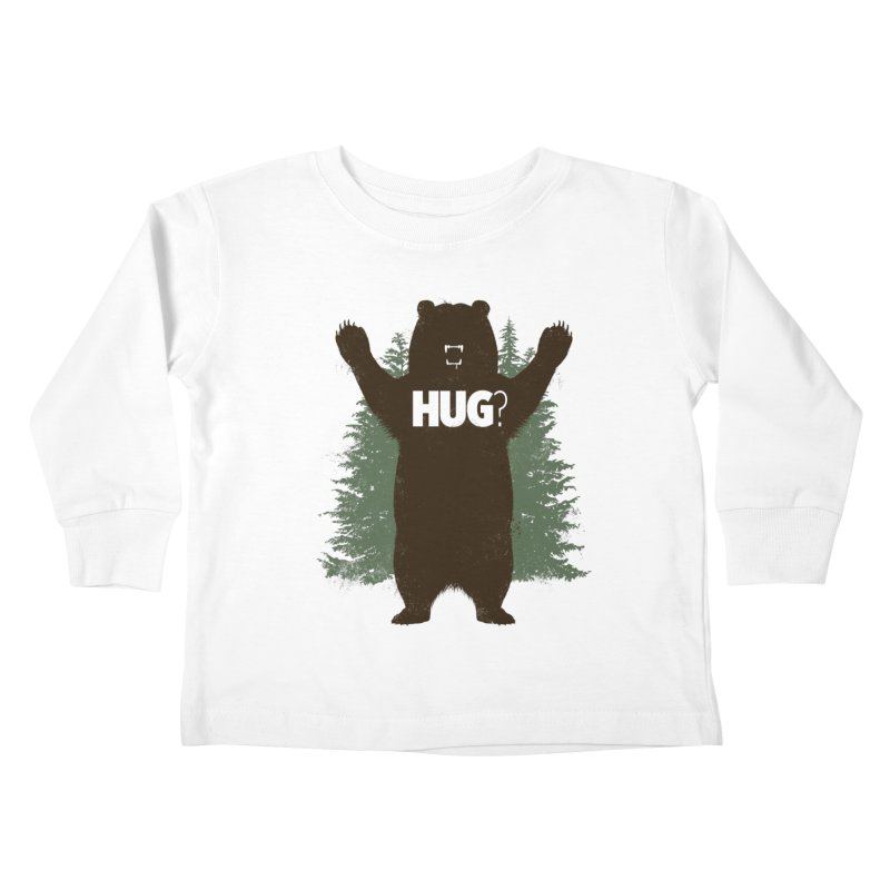 Bear Hug Kids Toddler Longsleeve T-Shirt by Fanboy30's Artist Shop