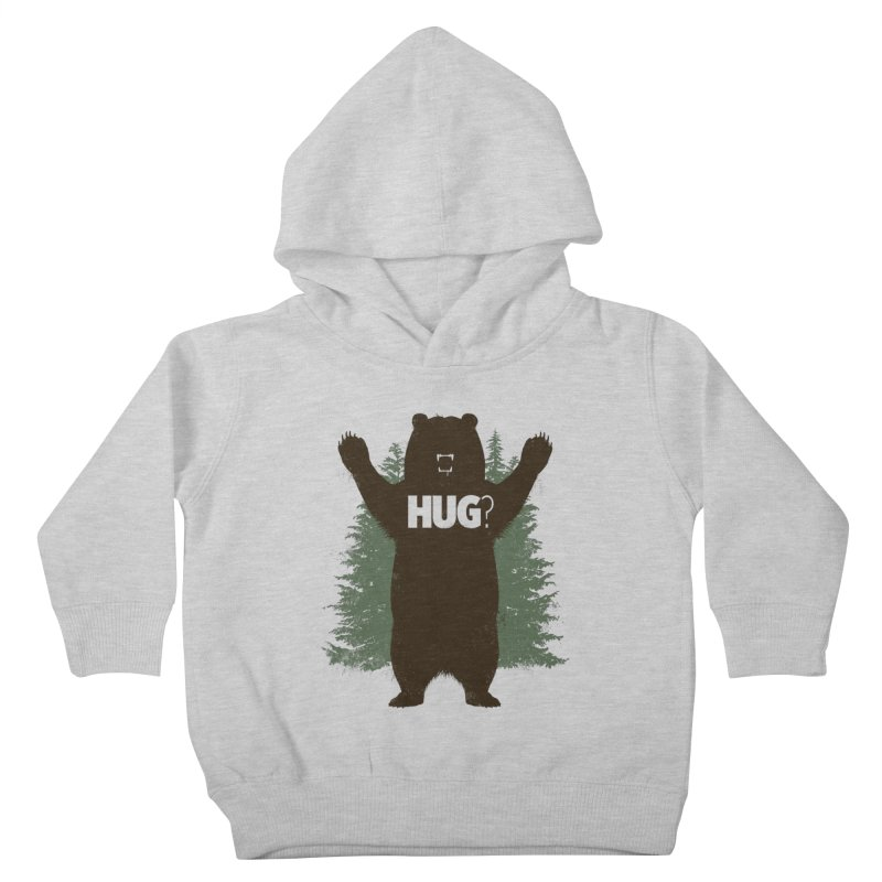 Bear Hug Kids Toddler Pullover Hoody by Fanboy30's Artist Shop