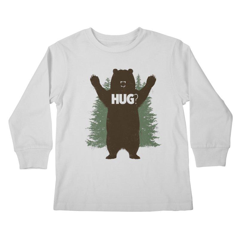 Bear Hug Kids Longsleeve T-Shirt by Fanboy30's Artist Shop