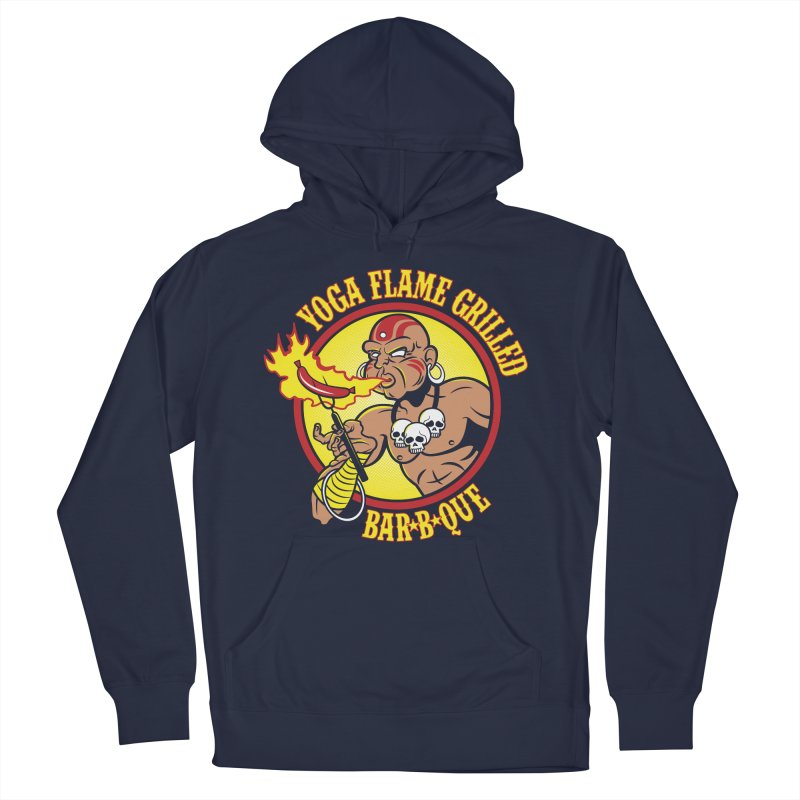 Yoga Flame Grilled BBQ Women's Pullover Hoody by Fanboy30's Artist Shop