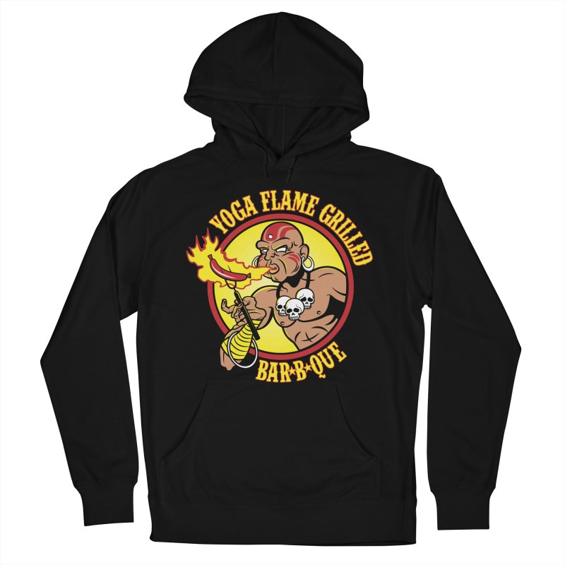 Yoga Flame Grilled BBQ Men's Pullover Hoody by Fanboy30's Artist Shop