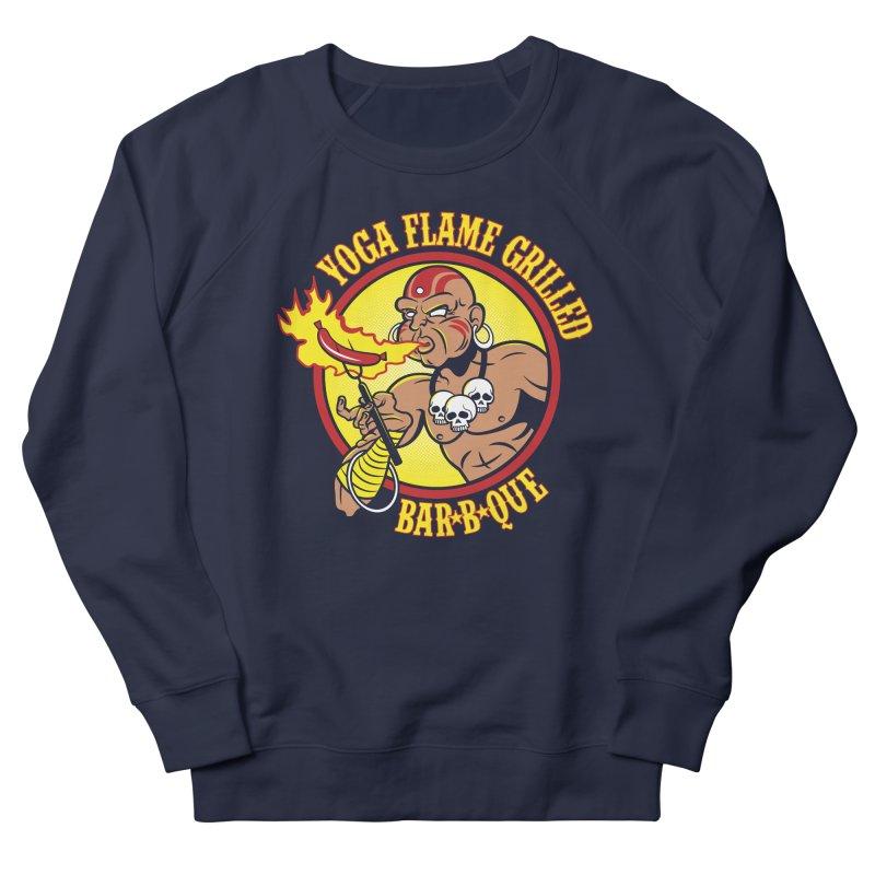 Yoga Flame Grilled BBQ Women's Sweatshirt by Fanboy30's Artist Shop