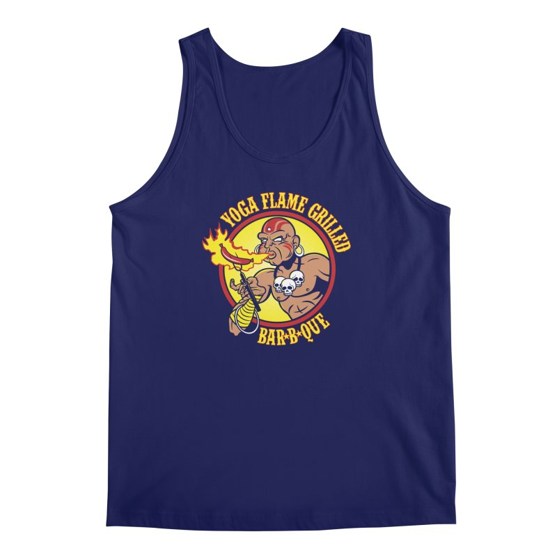 Yoga Flame Grilled BBQ Men's Tank by Fanboy30's Artist Shop