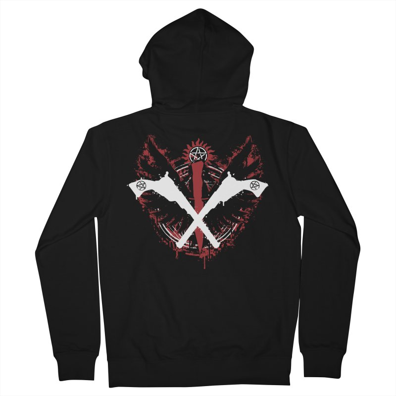 Peace when you are done Men's Zip-Up Hoody by Fanboy30's Artist Shop