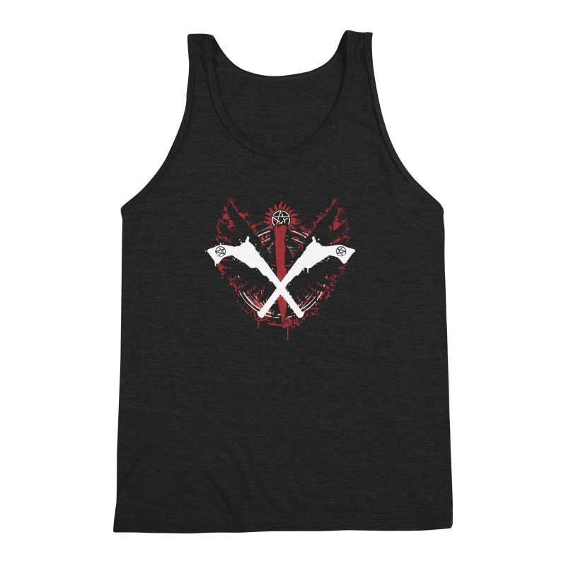 Peace when you are done Men's Triblend Tank by Fanboy30's Artist Shop