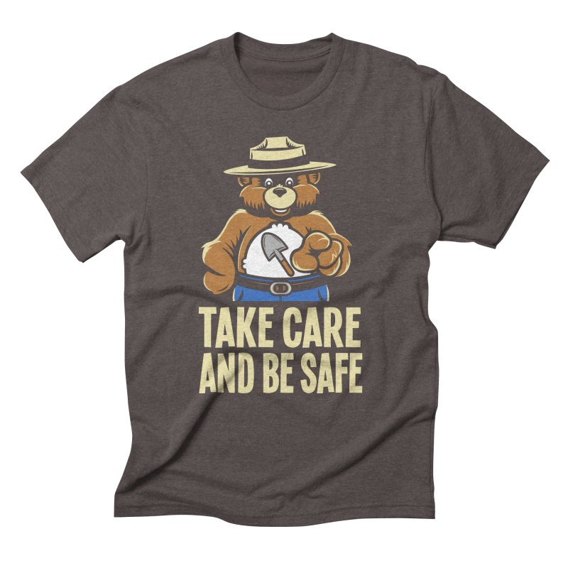 Take Care Men's Triblend T-shirt by Fanboy30's Artist Shop