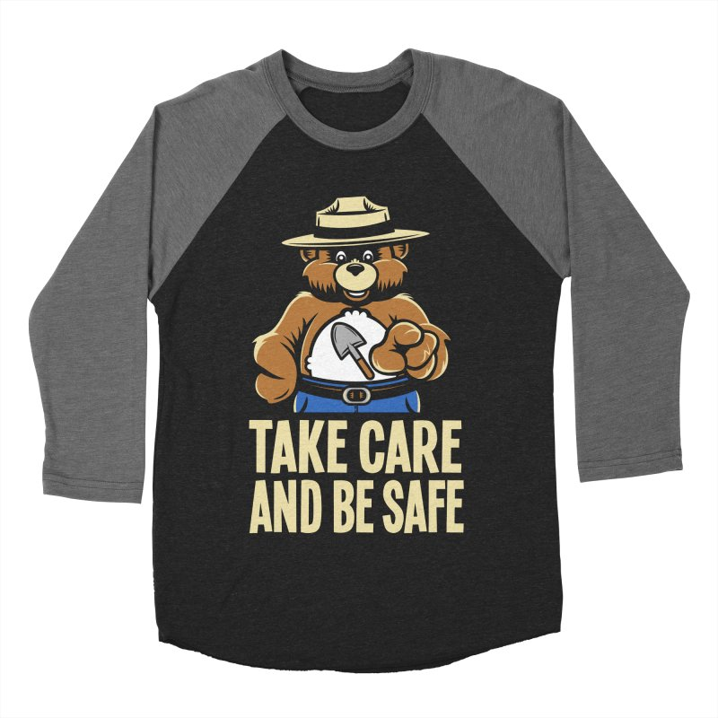 Take Care Women's Baseball Triblend T-Shirt by Fanboy30's Artist Shop