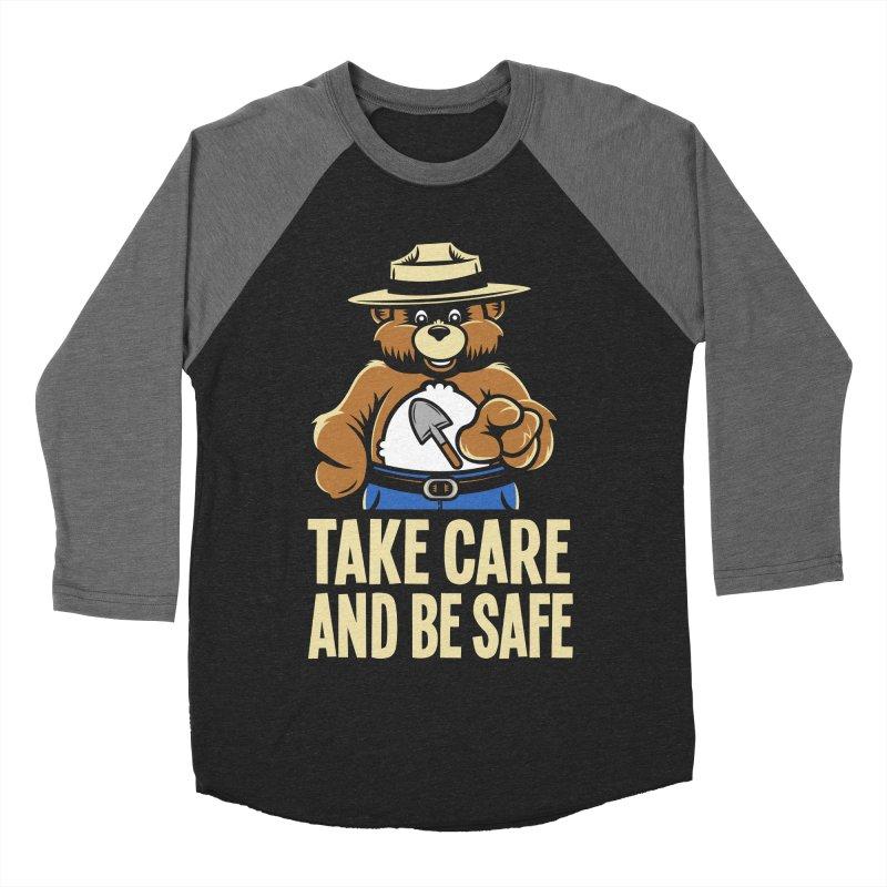 Take Care Men's Baseball Triblend T-Shirt by Fanboy30's Artist Shop
