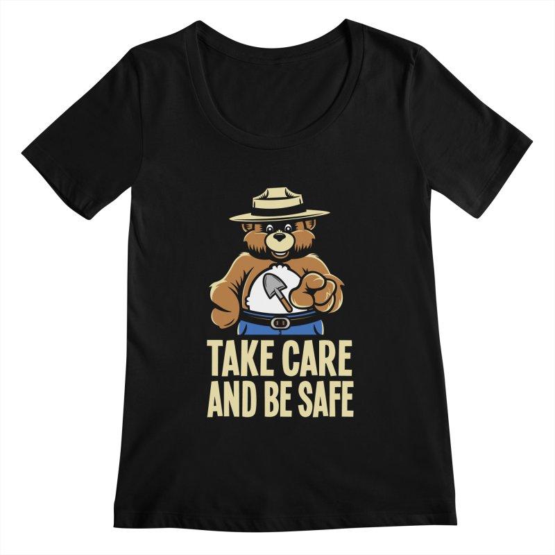Take Care Women's Scoopneck by Fanboy30's Artist Shop