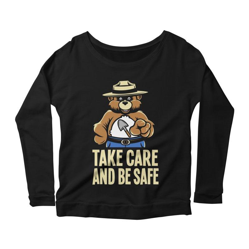 Take Care Women's Longsleeve Scoopneck  by Fanboy30's Artist Shop