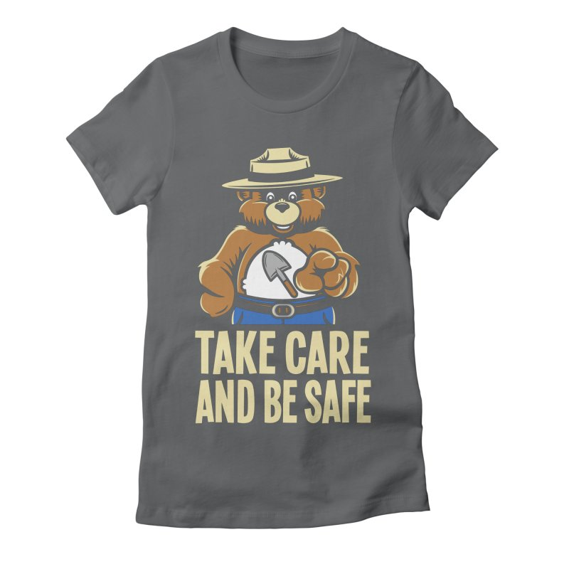Take Care Women's Fitted T-Shirt by Fanboy30's Artist Shop