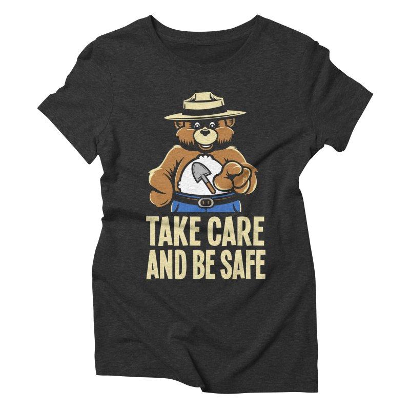 Take Care Women's Triblend T-shirt by Fanboy30's Artist Shop