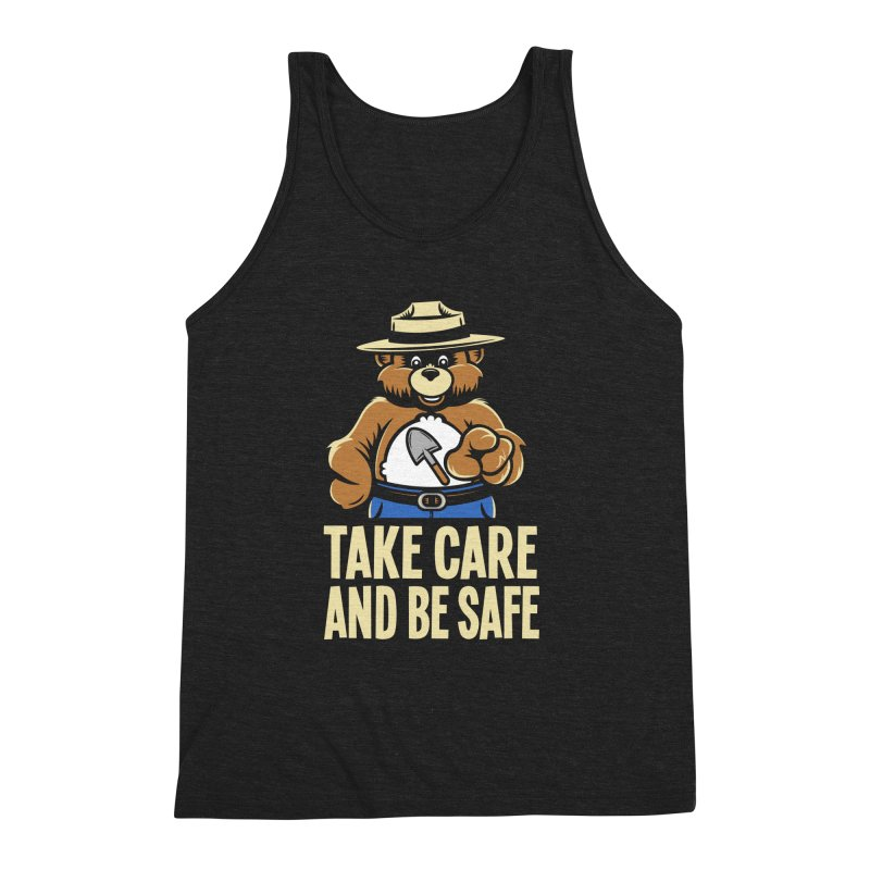 Take Care Men's Triblend Tank by Fanboy30's Artist Shop