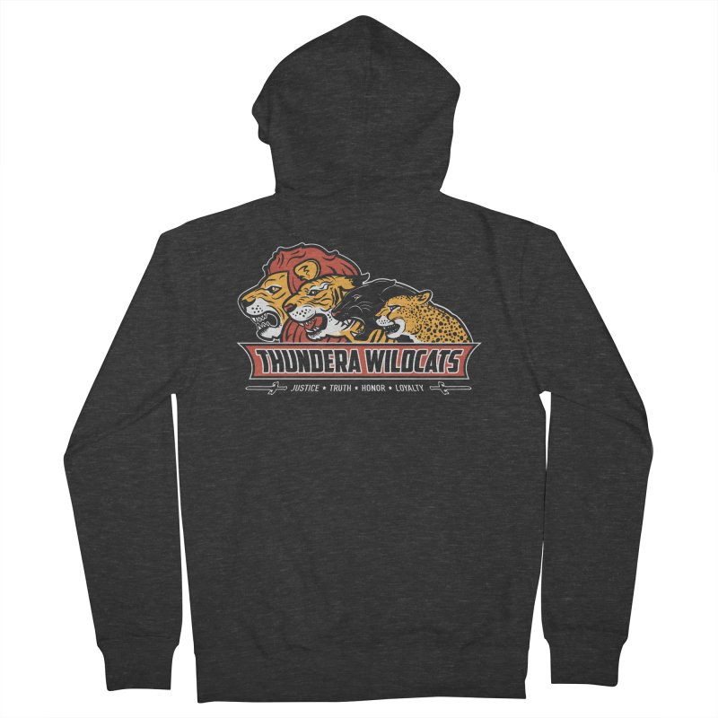 Thundera Wildcats Men's Zip-Up Hoody by Fanboy30's Artist Shop