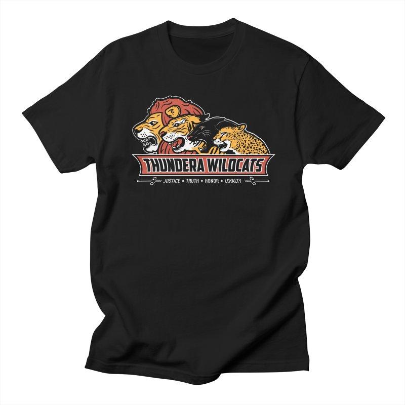 Thundera Wildcats Men's T-shirt by Fanboy30's Artist Shop