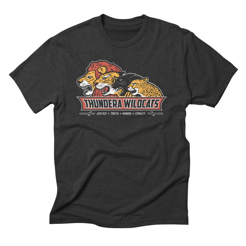 Thundera Wildcats Men's Triblend T-Shirt by Fanboy30's Artist Shop