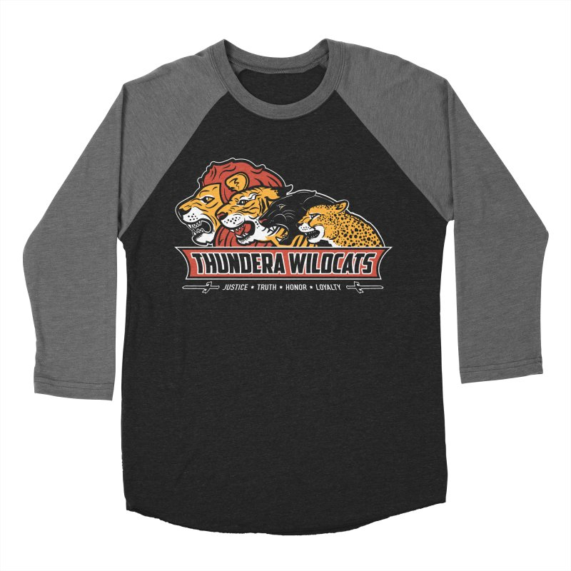 Thundera Wildcats Women's Baseball Triblend T-Shirt by Fanboy30's Artist Shop