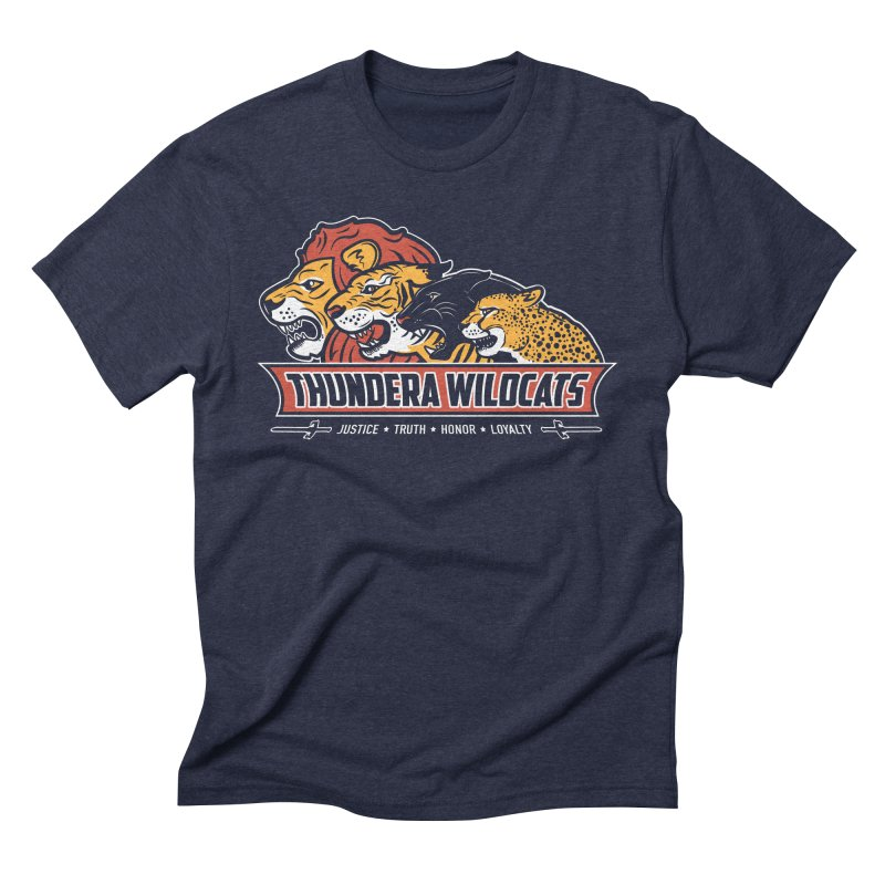 Thundera Wildcats Men's Triblend T-shirt by Fanboy30's Artist Shop