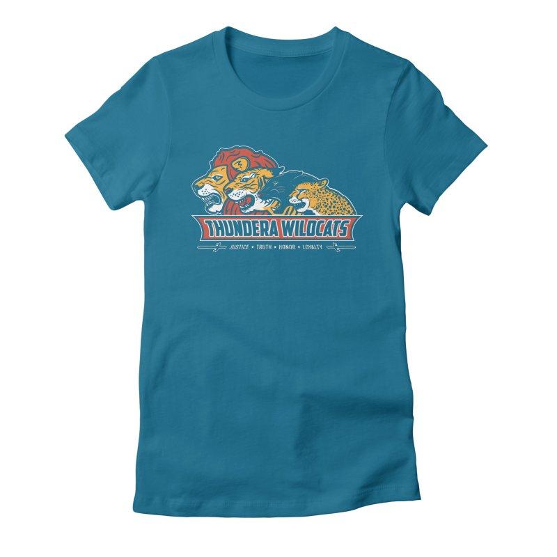 Thundera Wildcats Women's Fitted T-Shirt by Fanboy30's Artist Shop