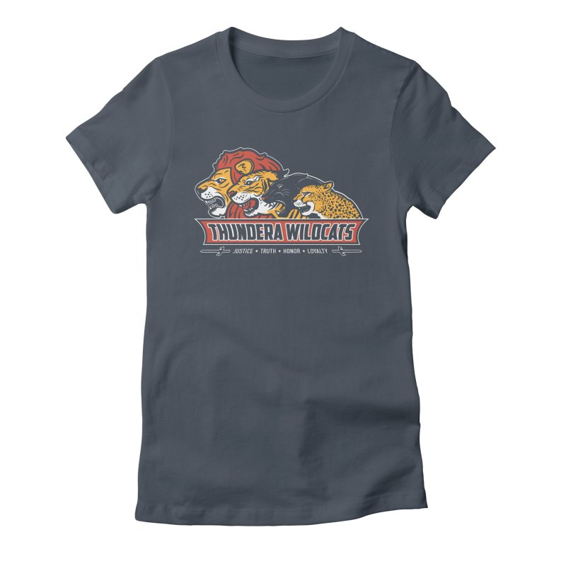 Thundera Wildcats Women's Fitted T-Shirt by Fanboy30's Artist Shop