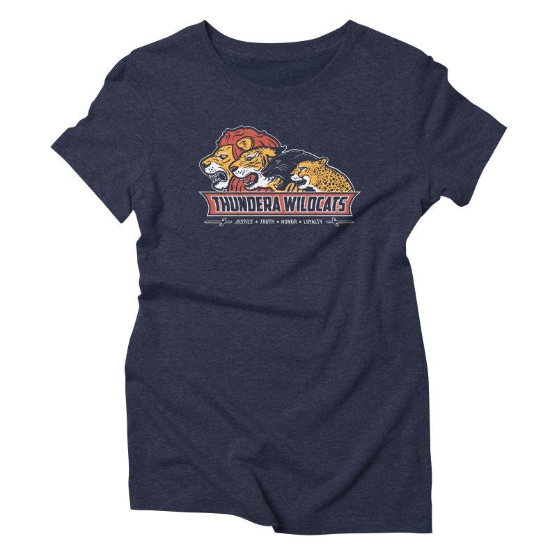 Thundera Wildcats Women's Triblend T-shirt by Fanboy30's Artist Shop