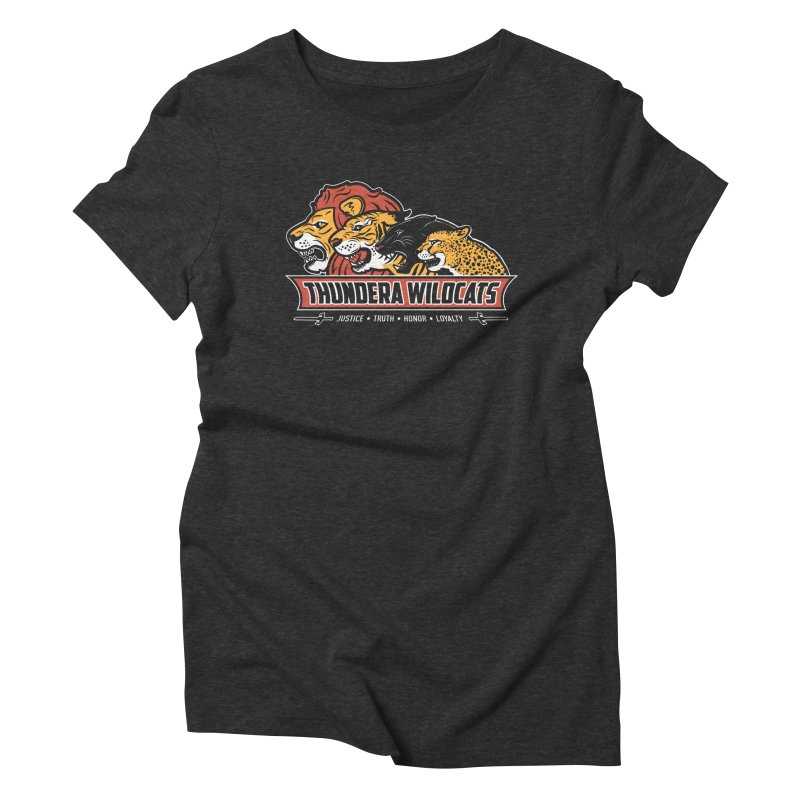 Thundera Wildcats Women's Triblend T-Shirt by Fanboy30's Artist Shop