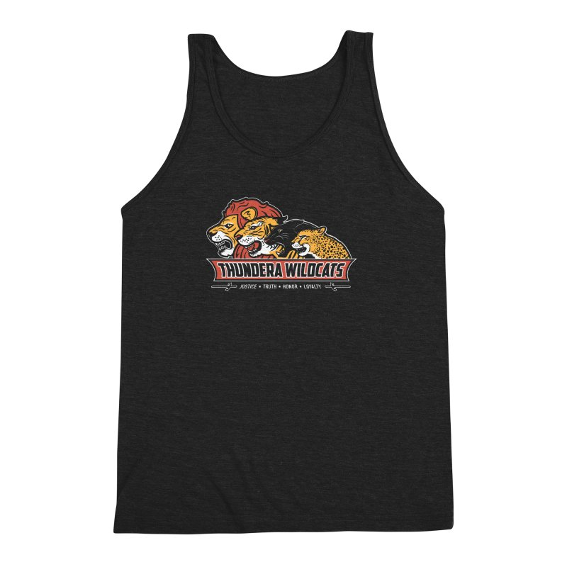 Thundera Wildcats Men's Triblend Tank by Fanboy30's Artist Shop