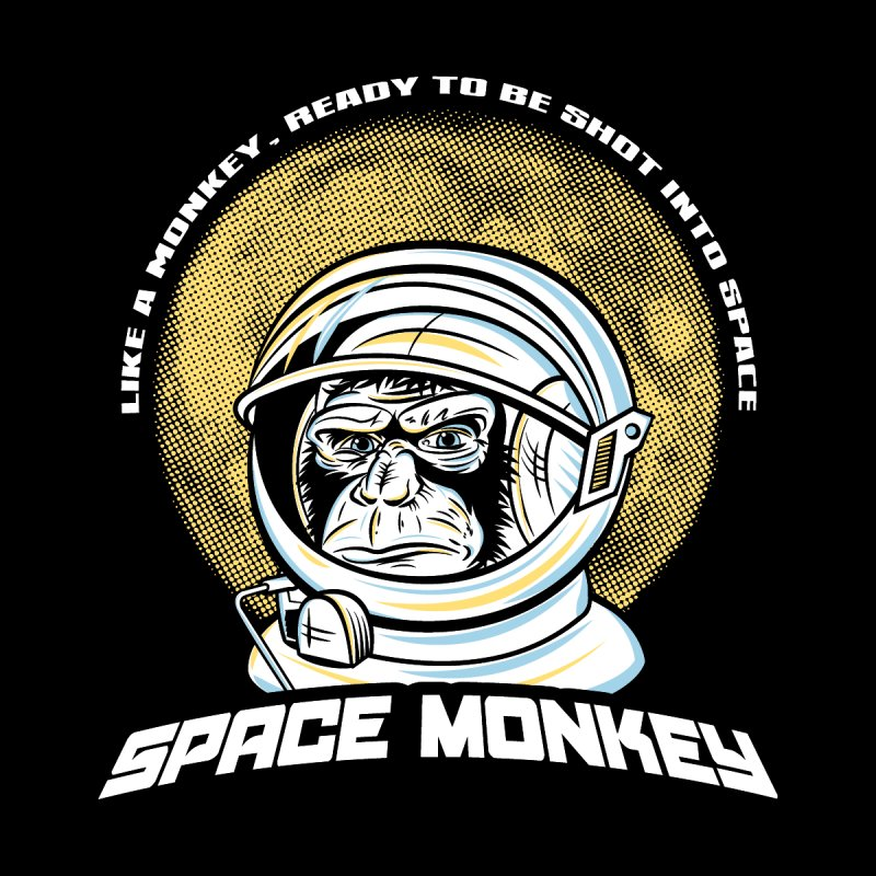 Space Monkey None  by Fanboy30's Artist Shop