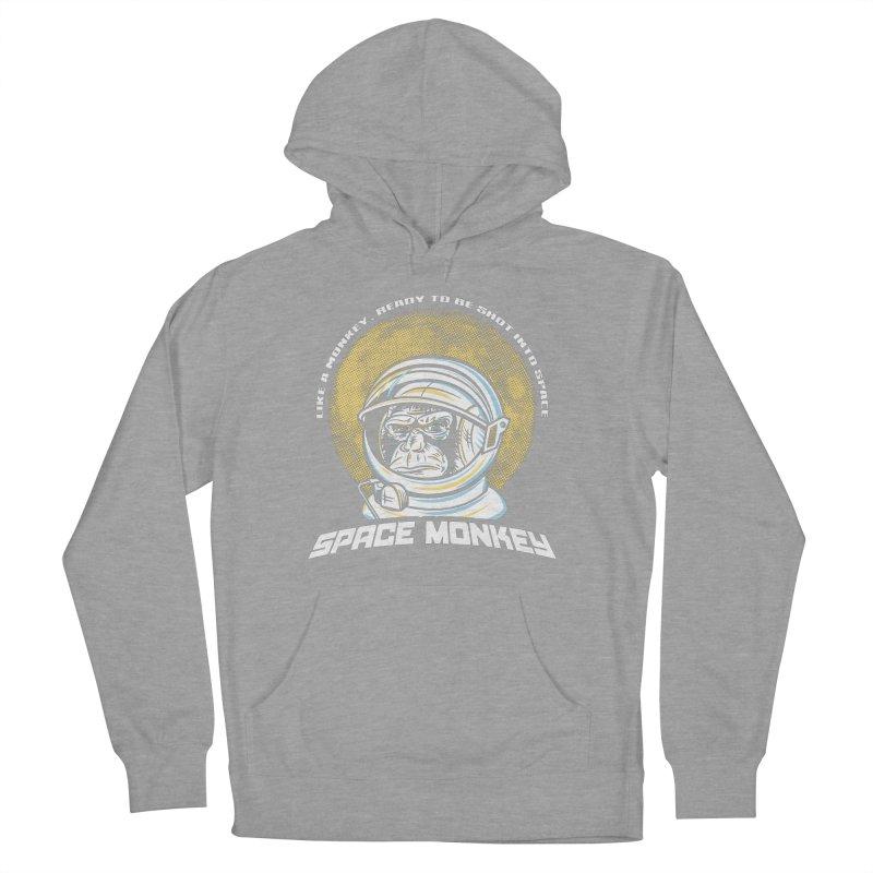 Space Monkey Women's Pullover Hoody by Fanboy30's Artist Shop