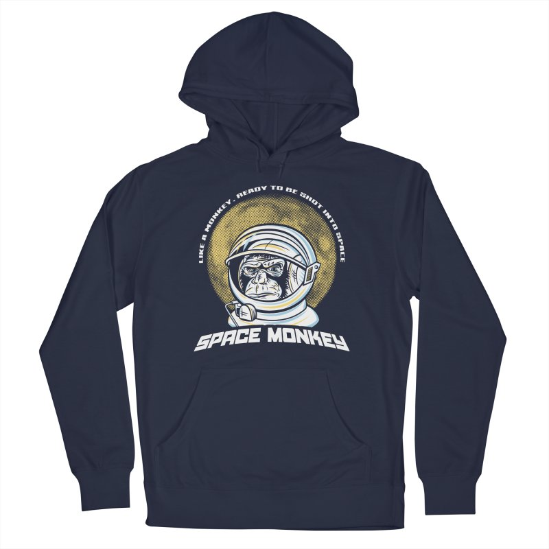 Space Monkey Women's Pullover Hoody by Fanboy30's Artist Shop