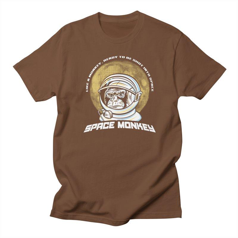 Space Monkey Men's T-shirt by Fanboy30's Artist Shop
