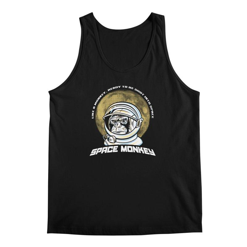 Space Monkey Men's Tank by Fanboy30's Artist Shop