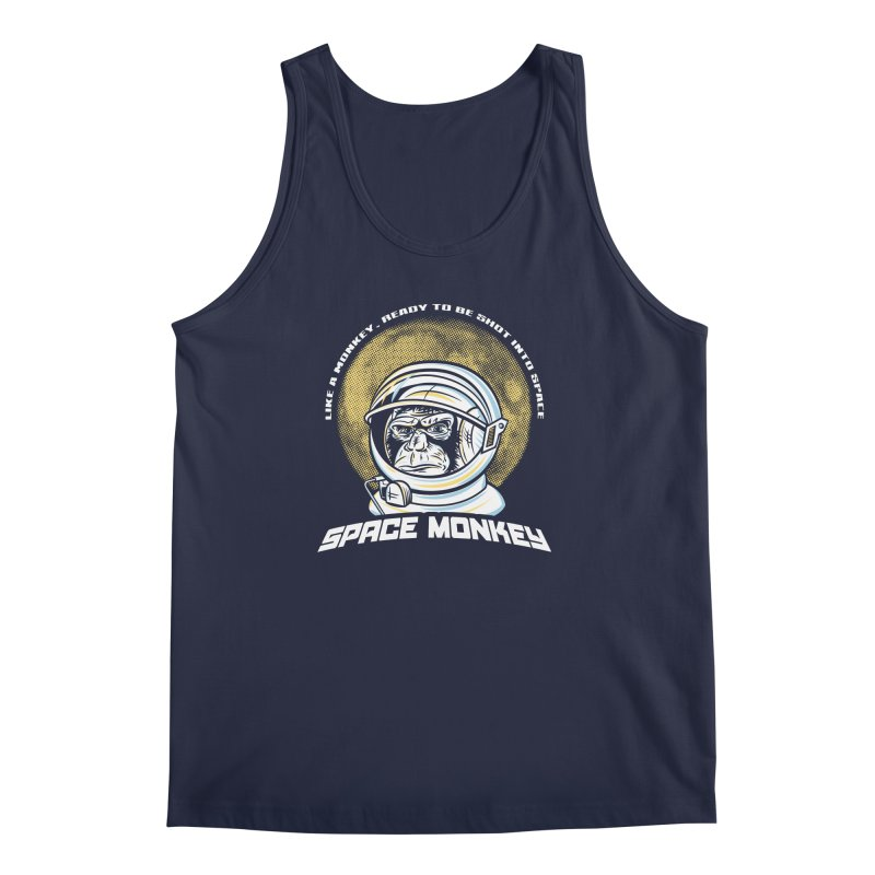 Space Monkey Men's Tank by Fanboy30's Artist Shop