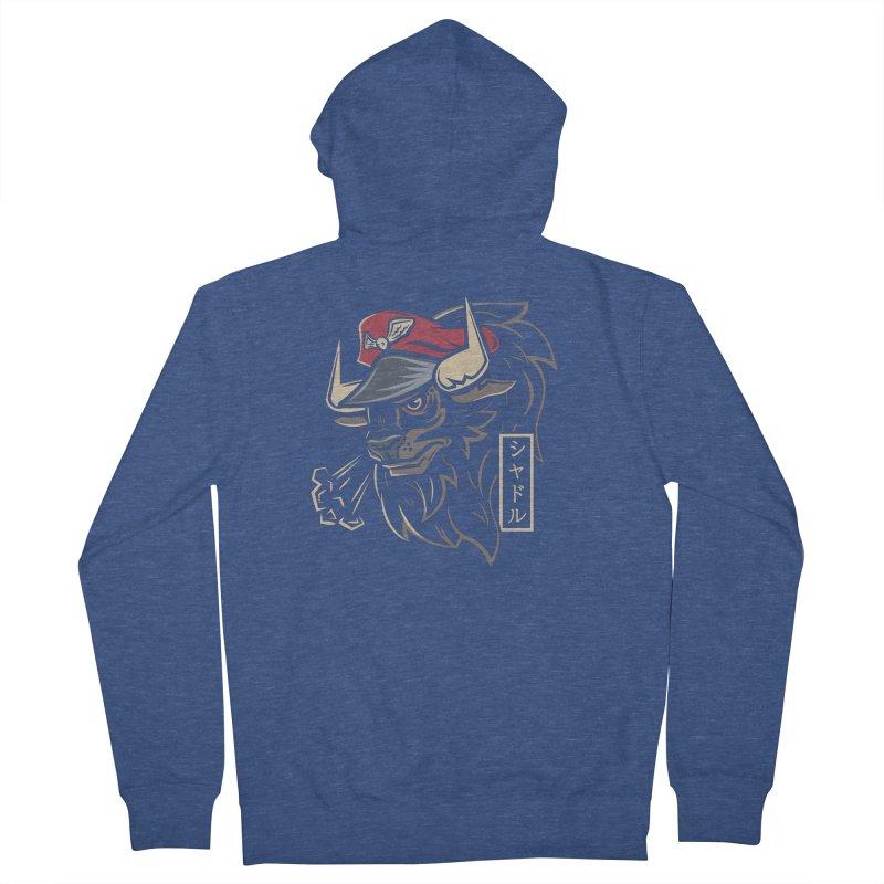 Master Bison Men's Zip-Up Hoody by Fanboy30's Artist Shop
