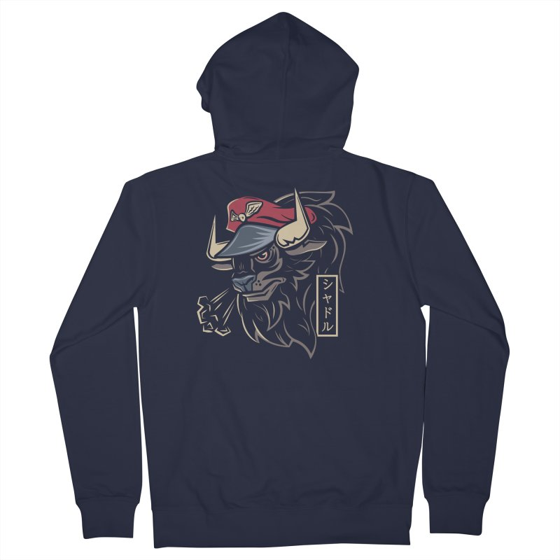 Master Bison Men's Zip-Up Hoody by Fanboy30's Artist Shop
