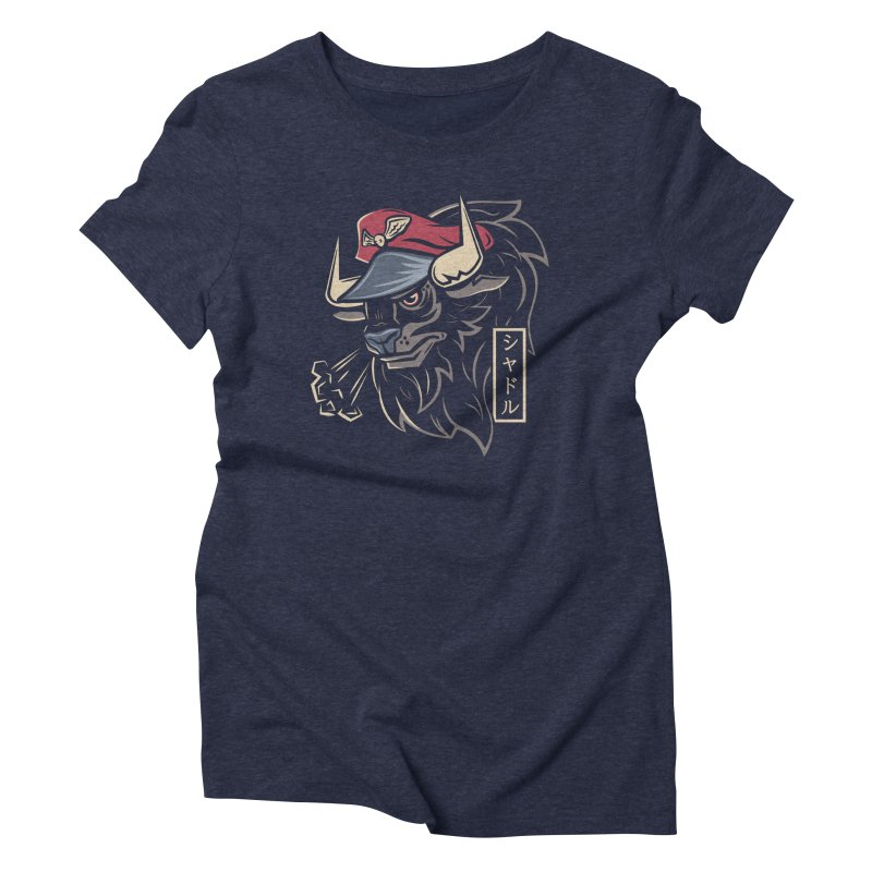 Master Bison Women's Triblend T-Shirt by Fanboy30's Artist Shop