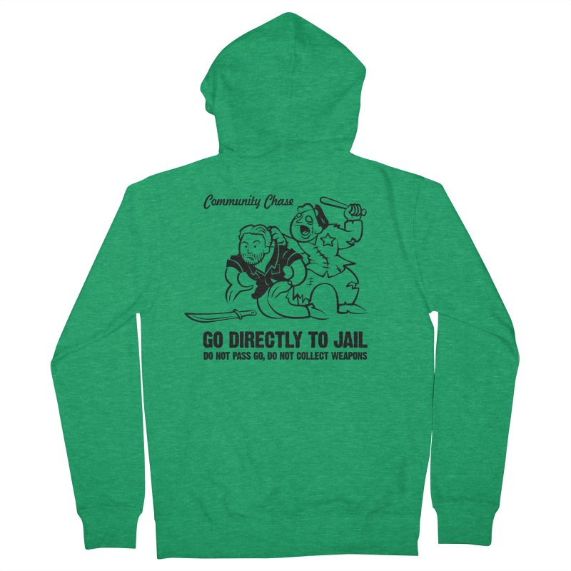 Community Chase Women's Zip-Up Hoody by Fanboy30's Artist Shop
