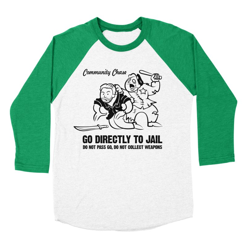 Community Chase Men's Baseball Triblend T-Shirt by Fanboy30's Artist Shop