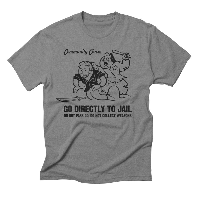 Community Chase Men's Triblend T-shirt by Fanboy30's Artist Shop