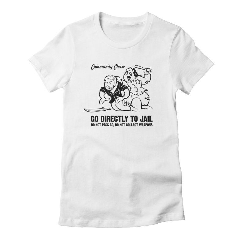 Community Chase Women's Fitted T-Shirt by Fanboy30's Artist Shop