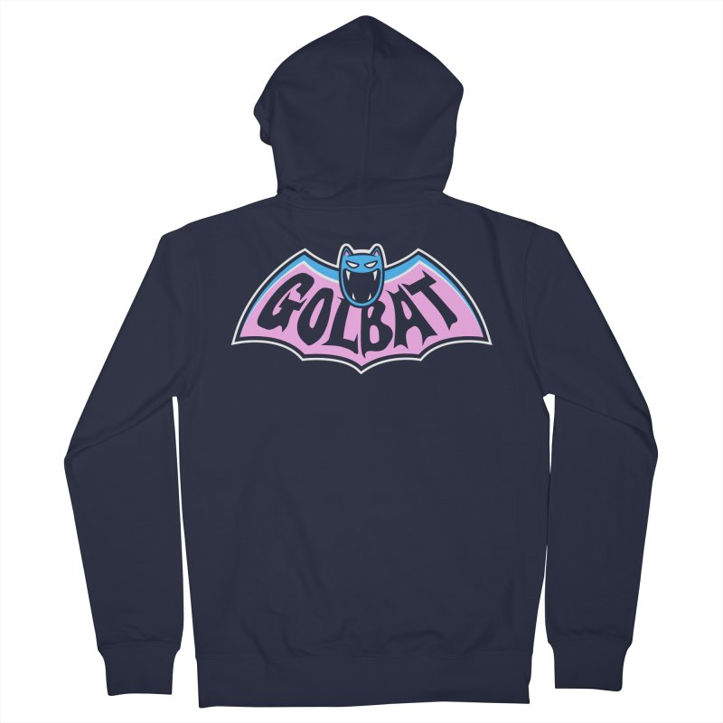 Focus Your Inner Bat Men's Zip-Up Hoody by Fanboy30's Artist Shop